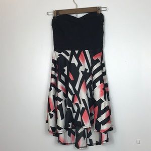 Strapless Charlotte Russe Cocktail Party Dress
